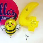 Birthday Buzzy Bee Balloon Package